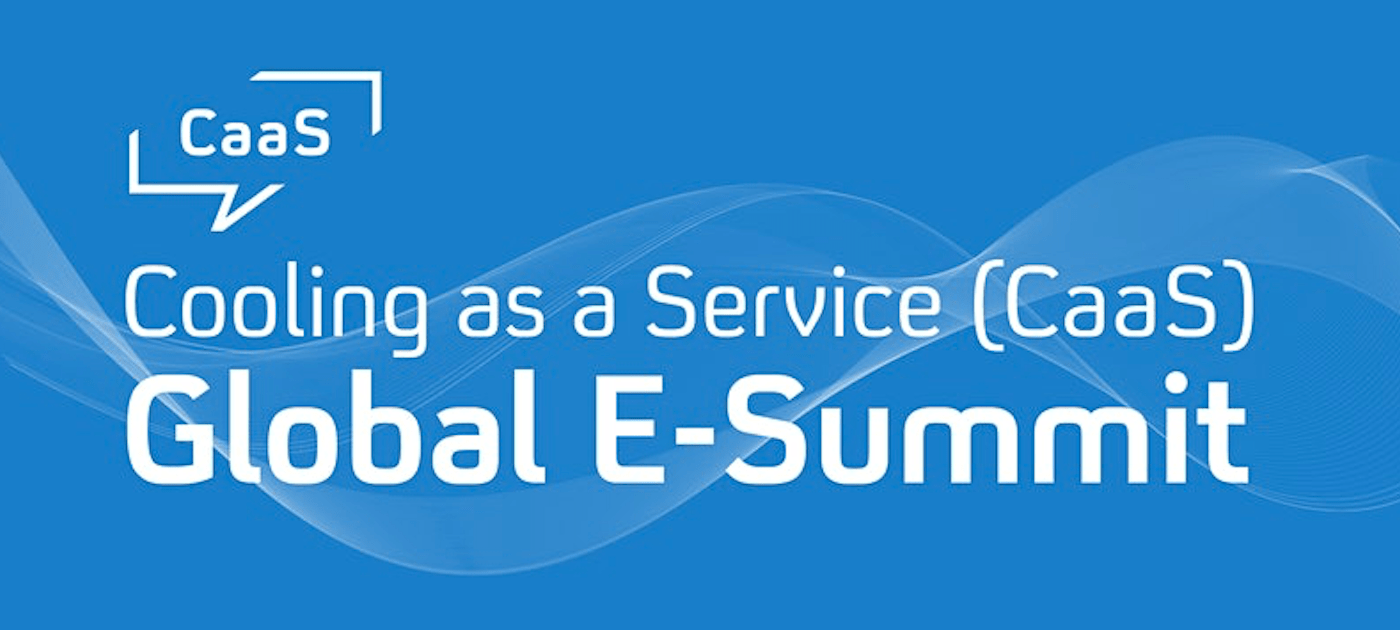 Save the Date: Cooling as a Service Global E-Summit Launched