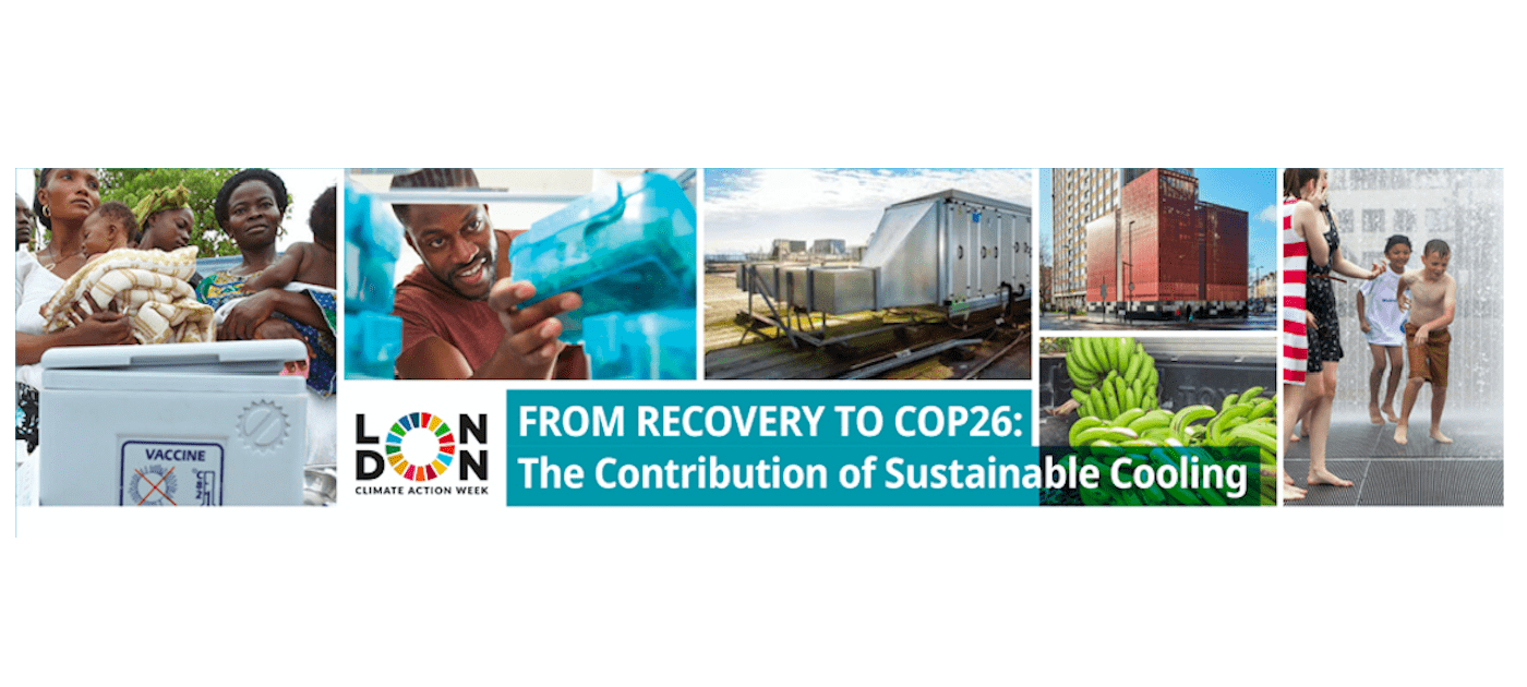 From Recovery to COP26: The Contribution of Sustainable Cooling