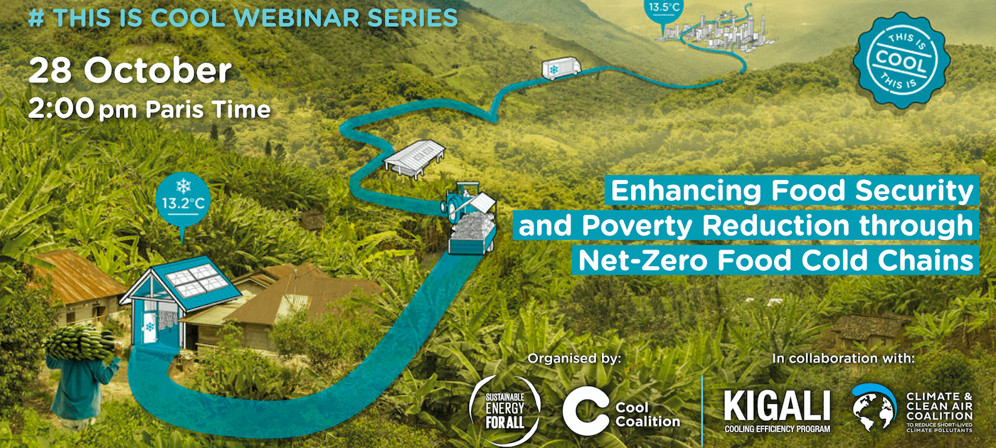 Enhancing Food Security and Poverty Reduction through Net-Zero Food Cold Chains