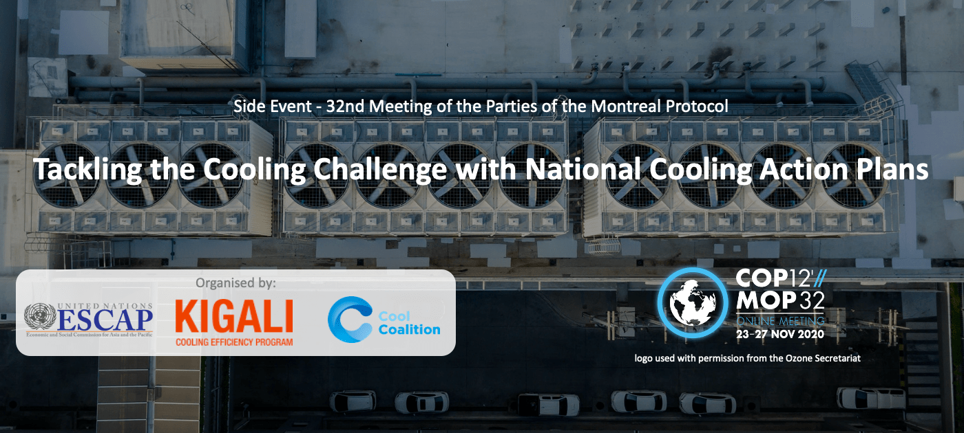 Tackling the Cooling Challenge with National Cooling Action Plans