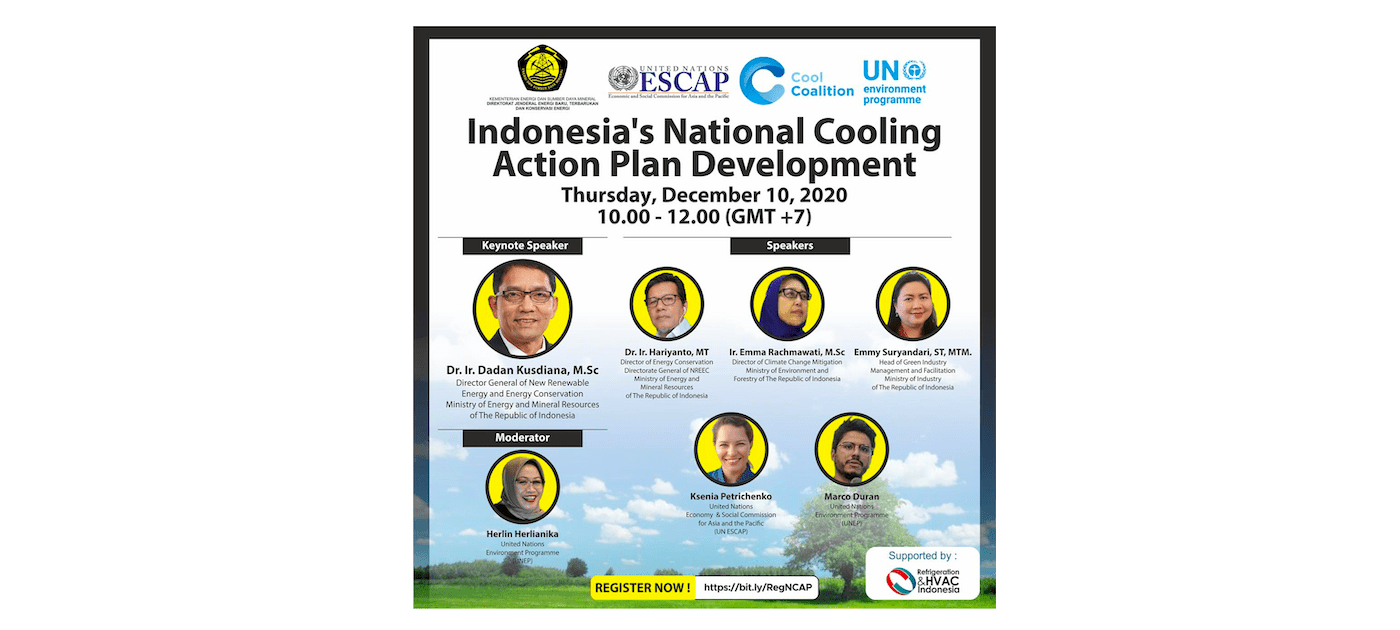 Kick-Off Virtual Meeting: Indonesia's National Cooling Action Plan Development