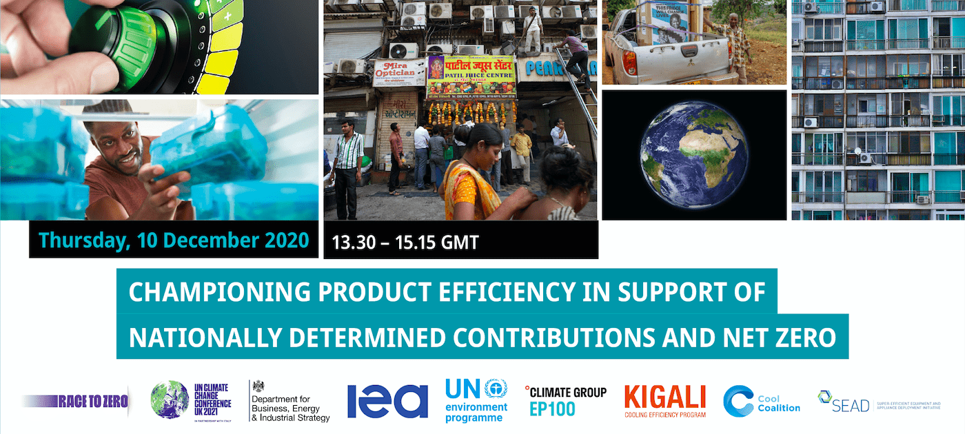 Championing Product Efficiency in Support of NDCs and Net-Zero
