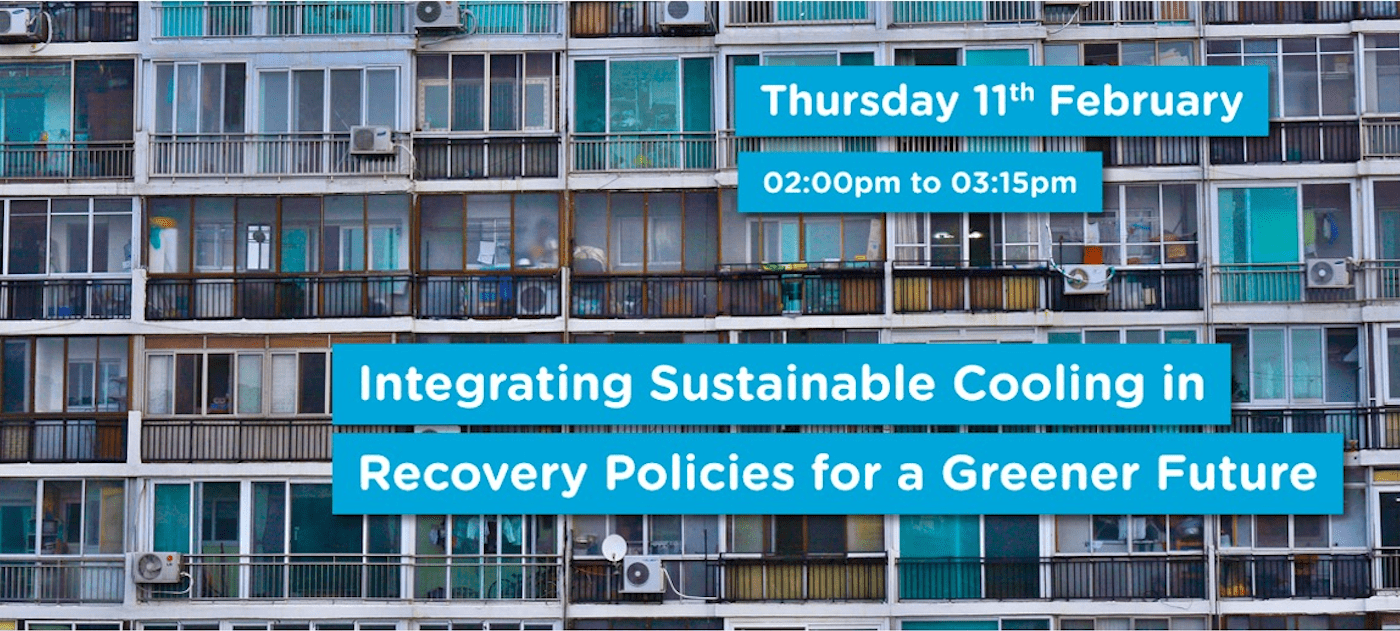 Integrating Sustainable Cooling in Recovery Policies for a Greener Future