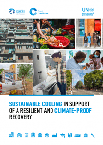 Sustainable Cooling in Support of a Resilient and Climate-Proof Recovery