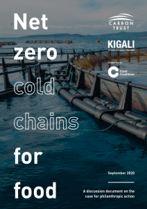 Net Zero Cold Chains for Food