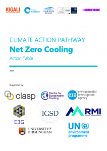 Pathway to Net Zero Cooling Action Plan
