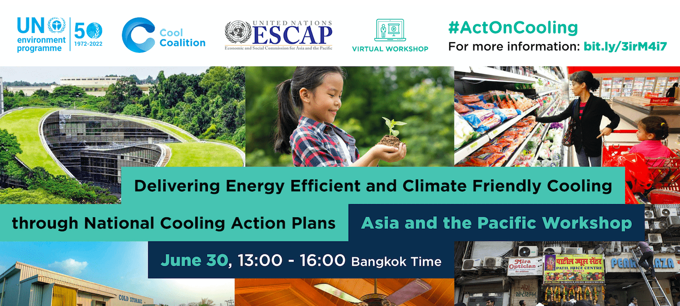 Delivering Energy Efficient and Climate Friendly Cooling through National Cooling Action Plans